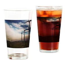 Windmills Drinking Glass