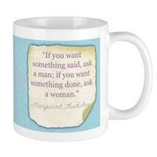 Margaret Thatcher Historical Small Mug