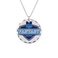I Love Fantasy Football Necklace