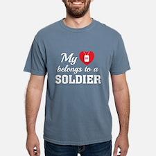 HeartBelongsSoldier1B Mens Comfort Colors Shirt
