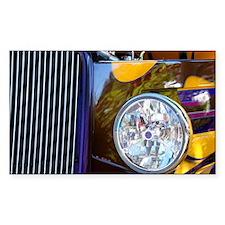 Hot Rod Show Car Light Decal