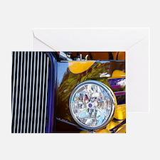 Hot Rod Show Car Light Greeting Card