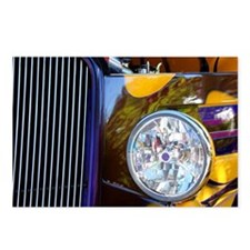 Hot Rod Show Car Light Postcards (Package of 8)