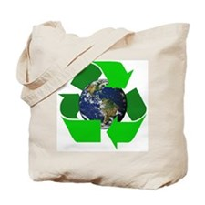 Recycle Earth Environment Symbol Tote Bag