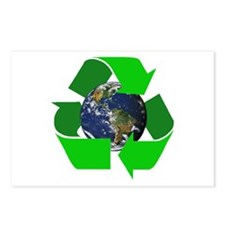 Recycle Earth Environment Symbol Postcards (Packag