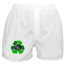 Recycle Earth Environment Symbol Boxer Shorts