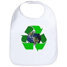 Recycle Earth Environment Symbol Bib