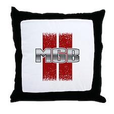 MGB Throw Pillow
