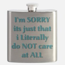 I'm Sorry Flask