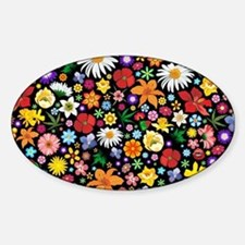 Spring Flowers Pattern Decal