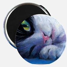 Tuxedo Cat 2 Magnet