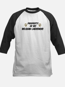 Belgian Laekenois: Property o Kids Baseball Jersey