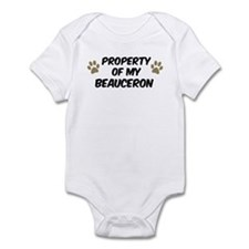 Beauceron: Property of Infant Bodysuit