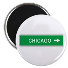 "Roadmarker Chicago (IL) 2.25"" Magnet (10 pack)"