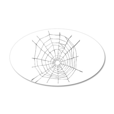 Spider Web Wall Sticker By Catsclips2