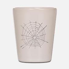 Spider Web Shot Glass