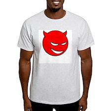 Happy Little Devil T-Shirt (Grey) M