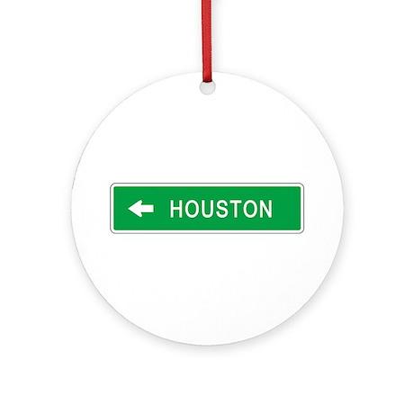 Roadmarker Houston (TX) Ornament (Round)