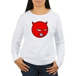 Angry Little Devil Shirt (White LS) F
