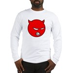 Angry Little Devil Shirt (White LS) M