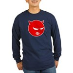 Angry Little Devil Shirt (Blue LS) M