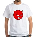 Angry Little Devil T-Shirt (White) M