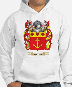 Meijer Coat of Arms - Family Crest Hoodie