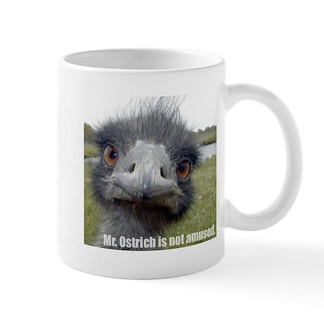 Mr. Ostrich's Awesome Mug!