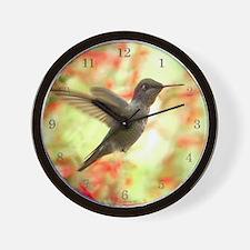 Hummingird Wall Clock