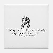 Beethoven II Tile Coaster