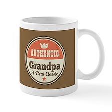 Vintage Grandpa Gift Small Mug