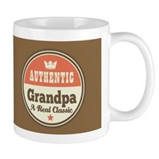 Vintage Grandpa Gift Small Mugs