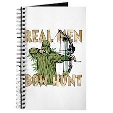 Real Men Bow Hunt Journal