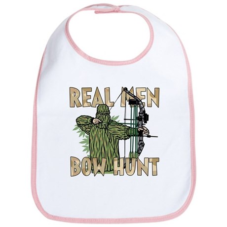 Real Men Bow Hunt Bib