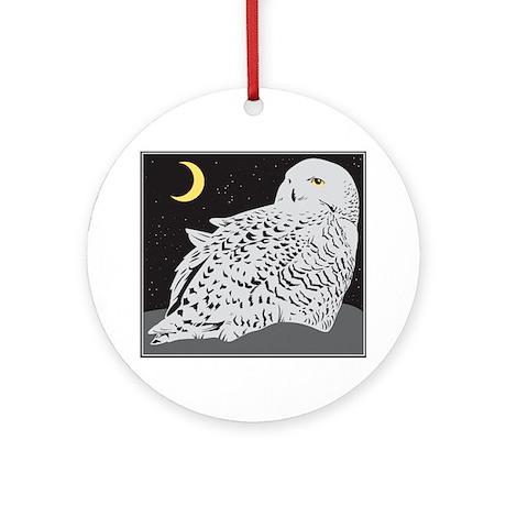 Owl Ornament (Round)