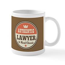 Lawyer Gift Vintage design Small Mug