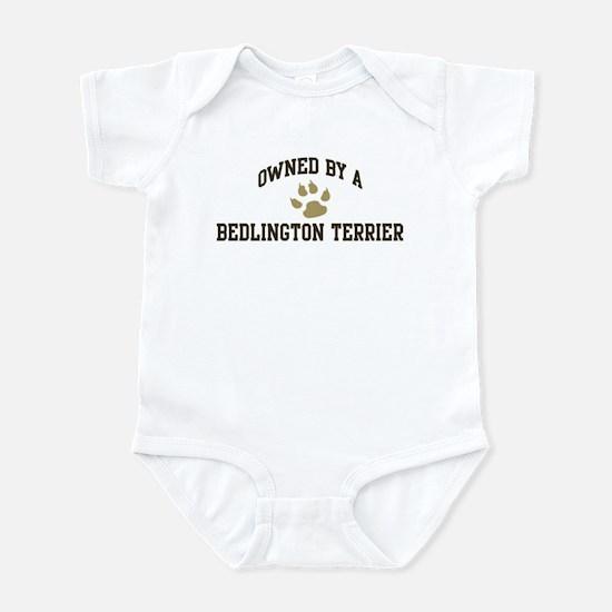 Bedlington Terrier: Owned Infant Bodysuit