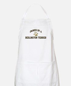 Bedlington Terrier: Owned BBQ Apron