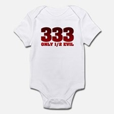 333: Only Half Evil Infant Bodysuit
