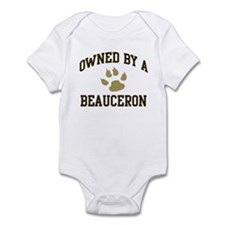 Beauceron: Owned Infant Bodysuit