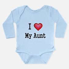 I LOVE MY AUNT Body Suit