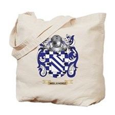 Melendez Coat of Arms - Family Crest Tote Bag