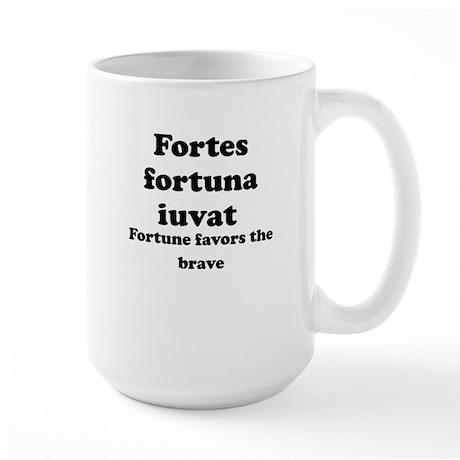 Fortes fortuna iuvat Mug