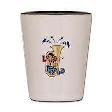 Loud Tuba Shot Glass