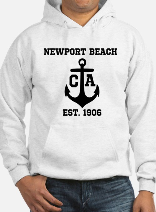 Newport Beach anchor design Hoodie