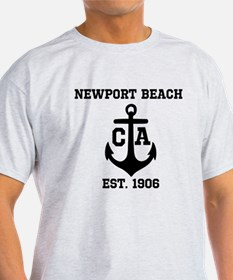 Newport Beach anchor design T-Shirt