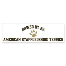 American Staffordshire Terrie Bumper Bumper Sticker
