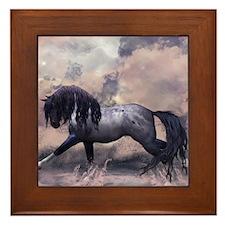 Fantasy Horse Equine Art Framed Tile
