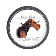 Airedale Best Friend2 Wall Clock