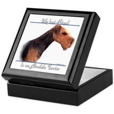 Airedale Best Friend2 Keepsake Box
